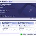 ZeroSpyware 2005 snapshot
