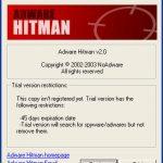 Adware Hitman snapshot