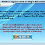 Spyware Sheriff snapshot