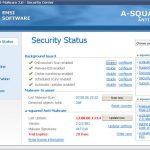 a squared Anti Malware snapshot