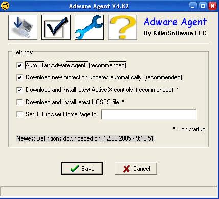 Adware Agent snapshot