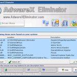 AdwareX Eliminator snapshot