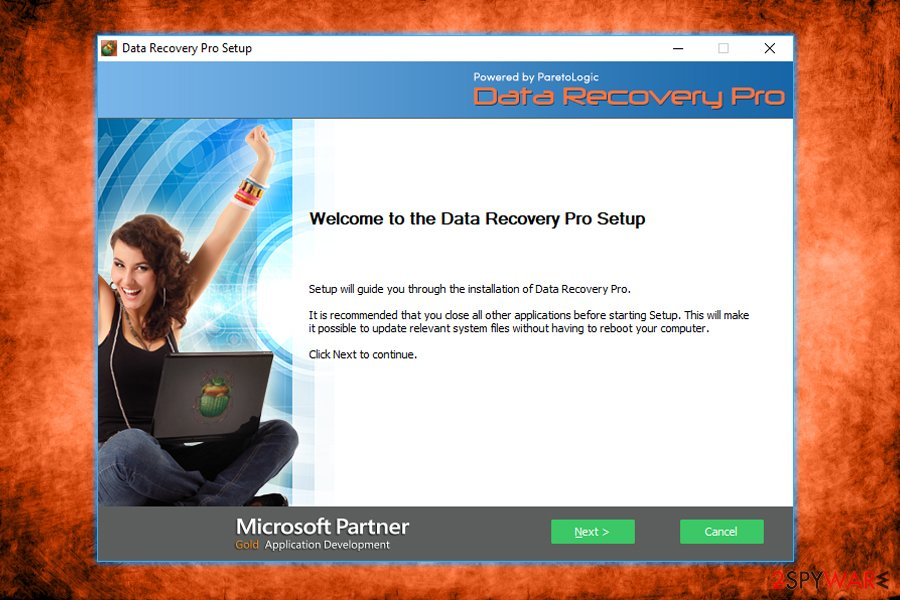 Data Recovery Pro installation
