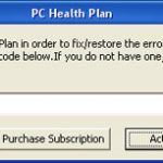 PC Health Plan snapshot