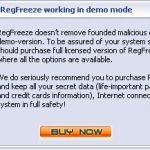 RegFreeze snapshot