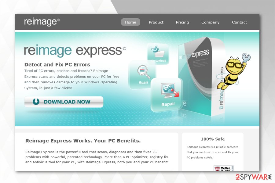 Reimage Express review