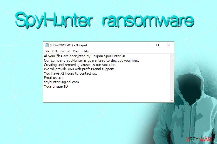 SpyHunter ransomware