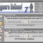Spyware BeGone snapshot