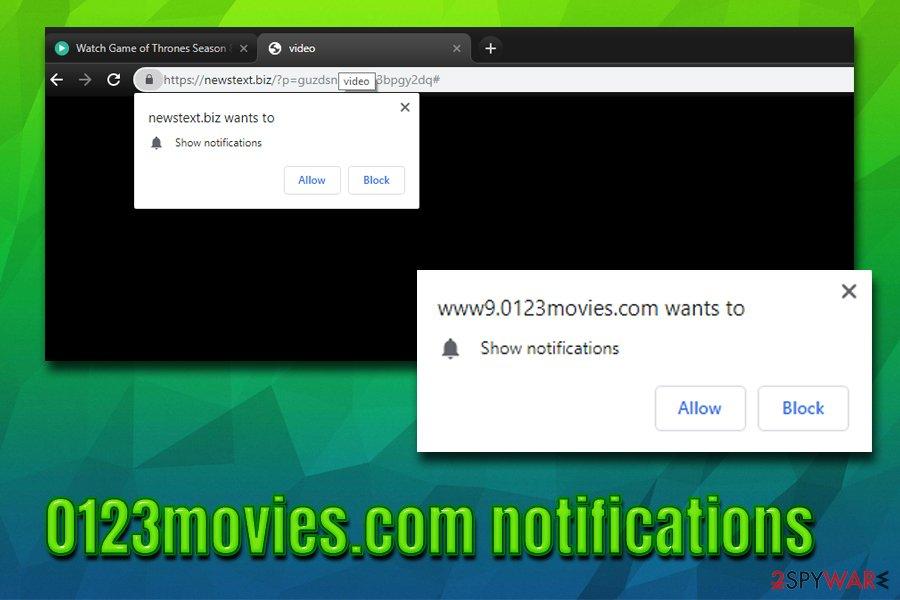 0123movies push notifications