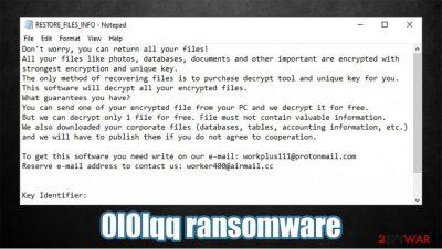 0l0lqq ransomware
