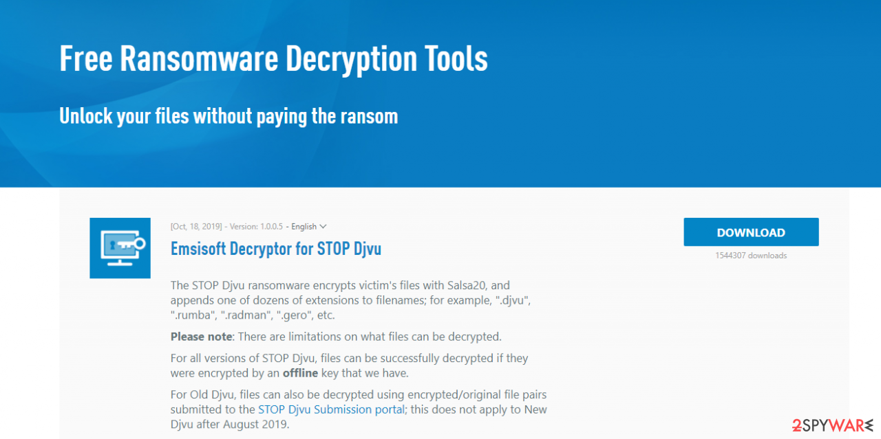 Download decryptor