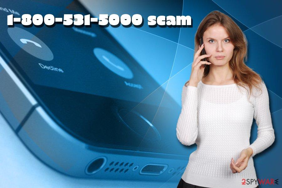 8005315000 scam