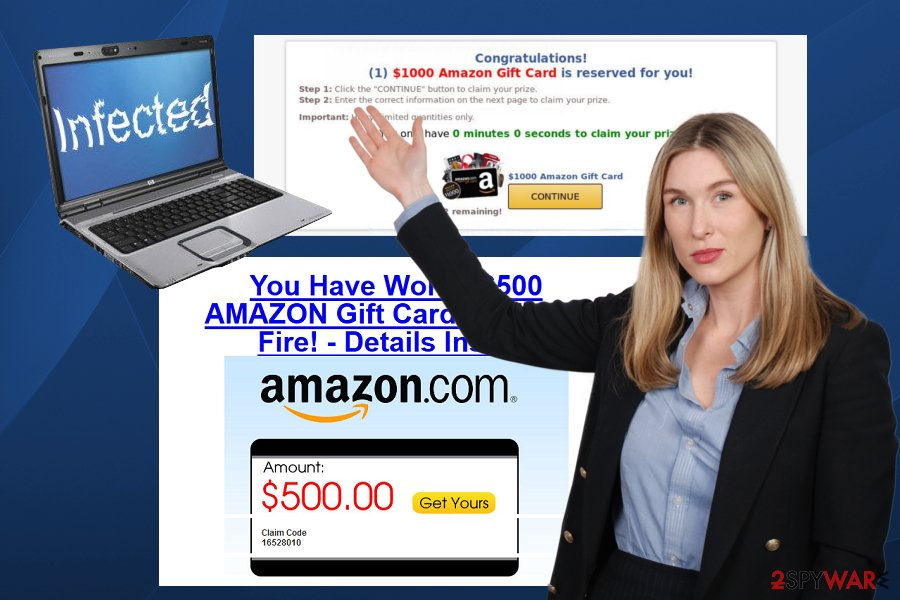 """$1000 Amazon Gift Card is reserved for you"" scam"