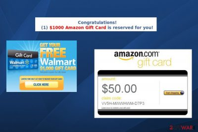 $1000 Amazon Gift Card is reserved for you virus
