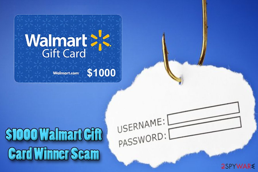 Walmart Gift Card Winner virus