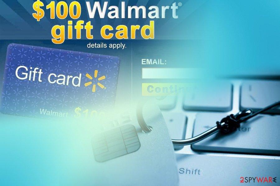 $1000 Walmart Gift Card Winner fake alert