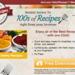100sOfRecipes Toolbar