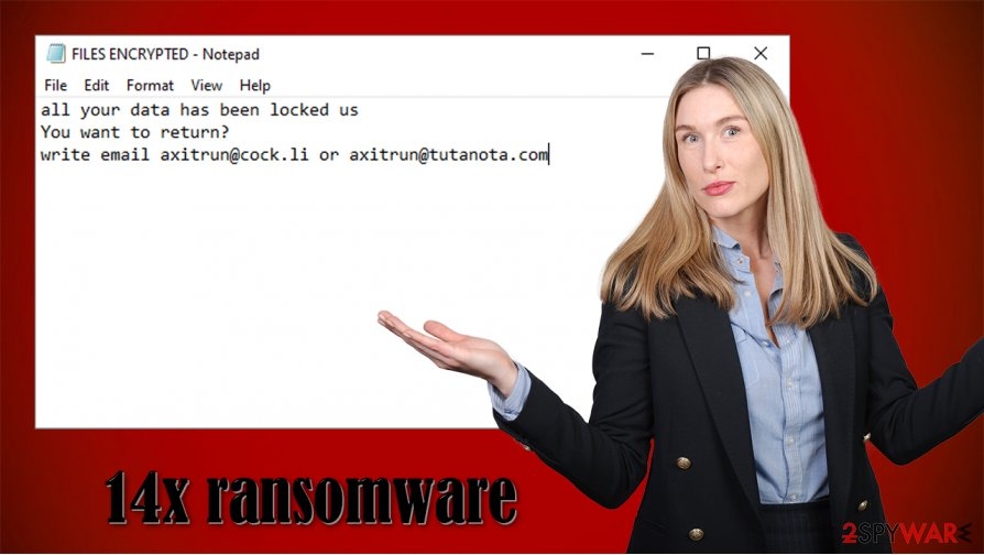 14x ransomware virus