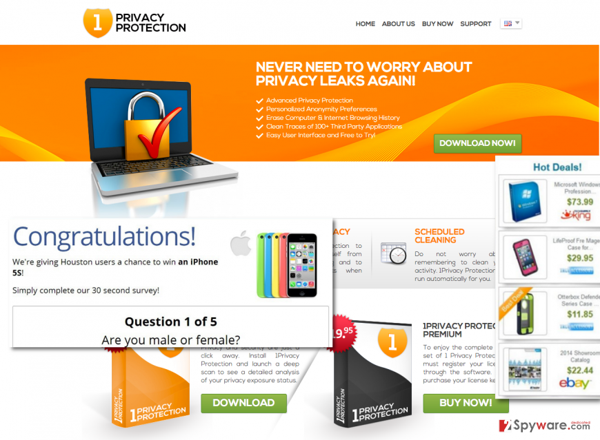 1PrivacyProtection adware