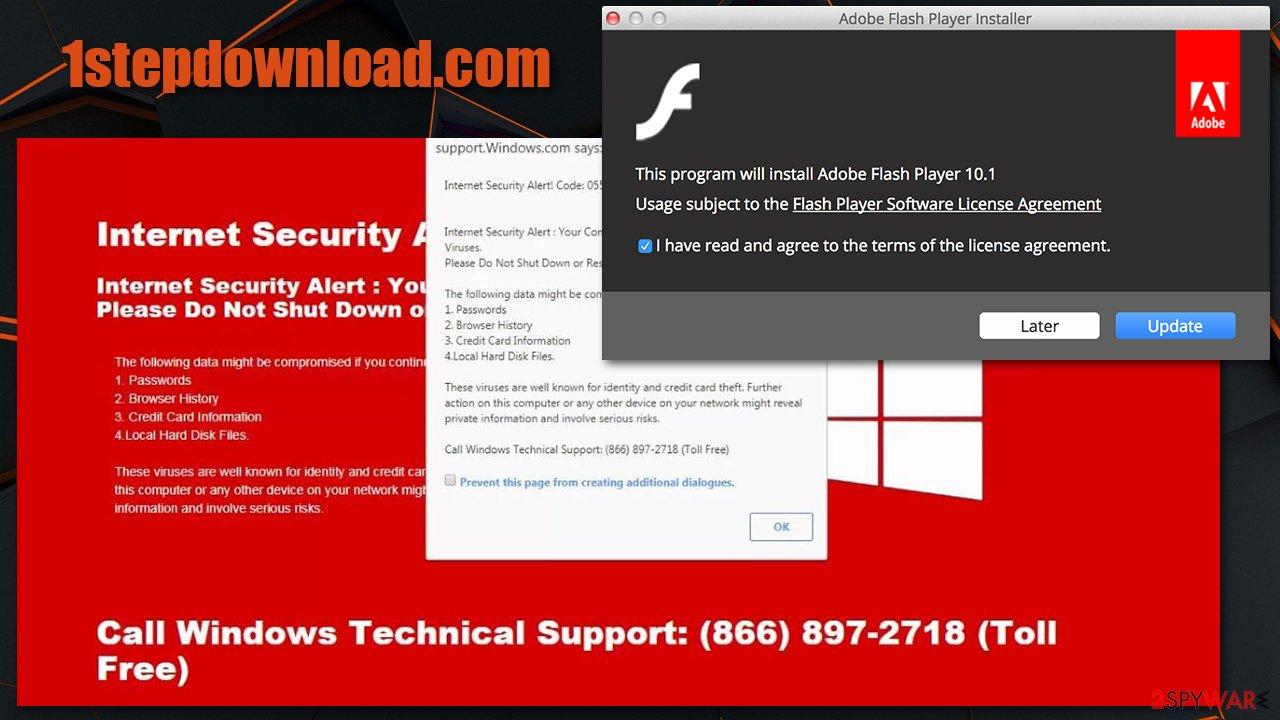 1stepdownload.com scam