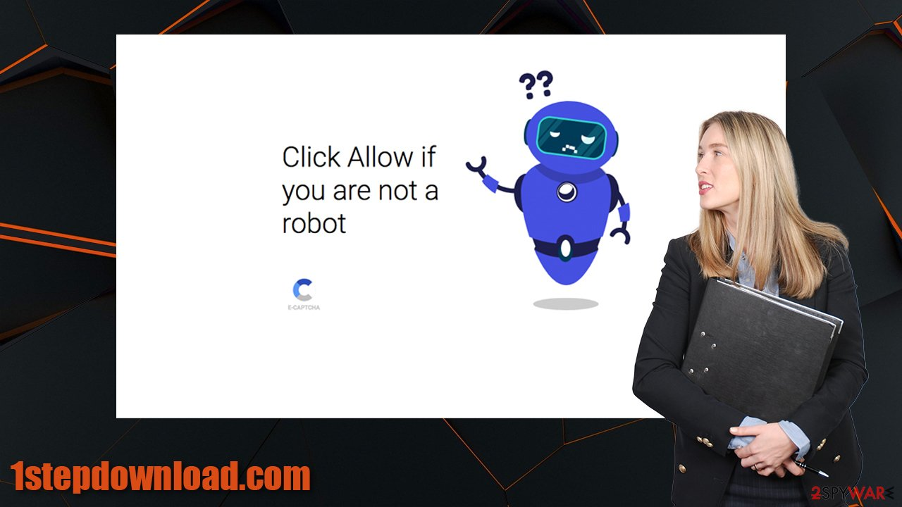 1stepdownload.com virus