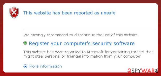 Personal Security virus