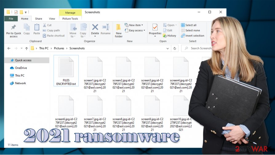 2021 ransomware virus