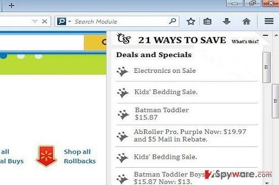 21 Ways To Save Deals and Specials snapshot