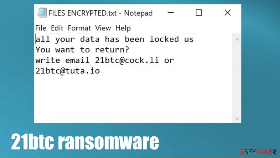 21btc ransomware