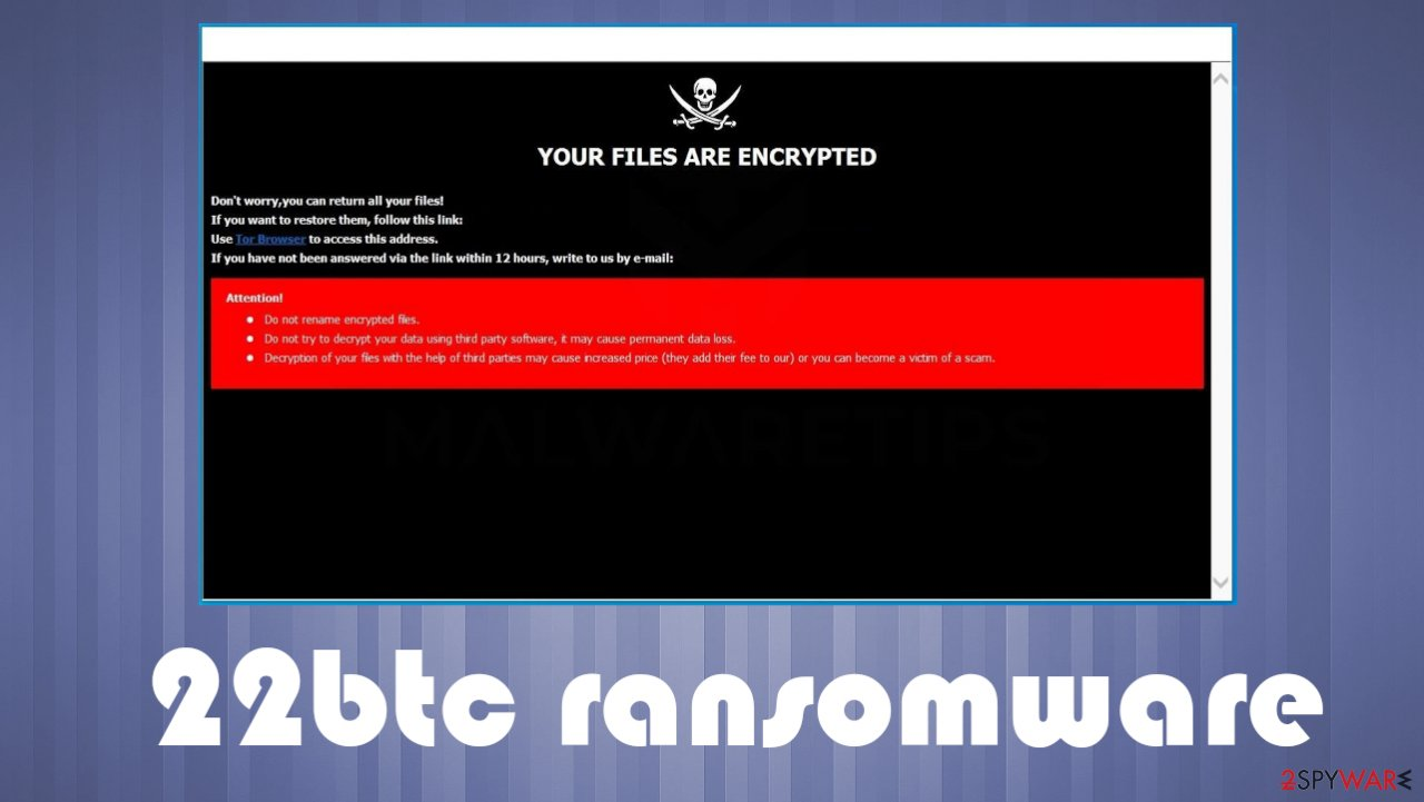 22btc ransomware