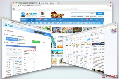 2345.com browser hijacker