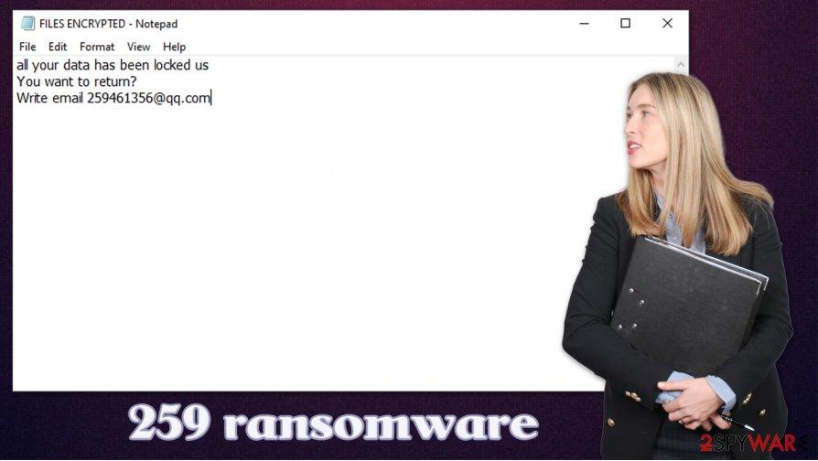 259 ransomware virus