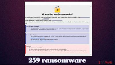 259 ransomware