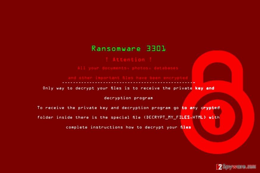 3301 ransomware virus