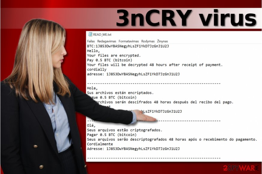 3nCRY ransomware