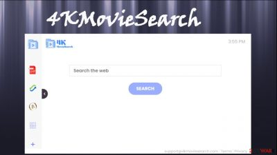 4KMovieSearch browser hijacker