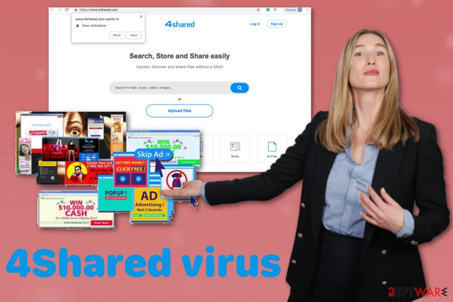 4Shared virus
