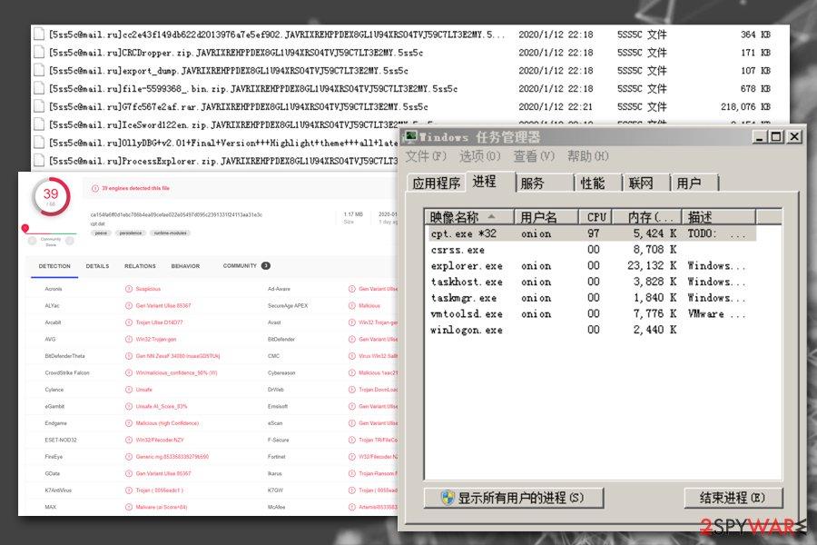 5ss5c ransomware background tasks