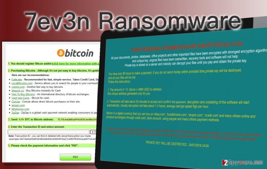 7ev3n ransomware