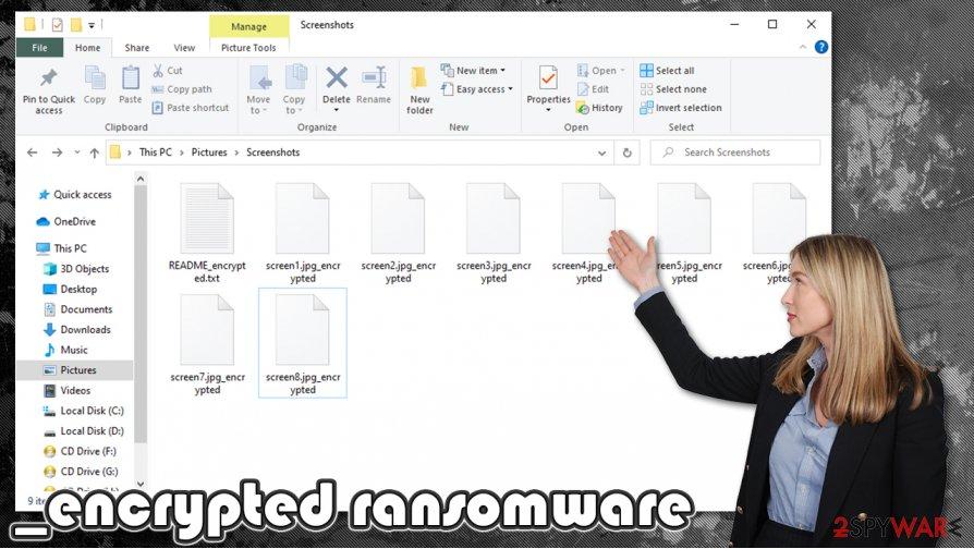 _encrypted ransomware virus