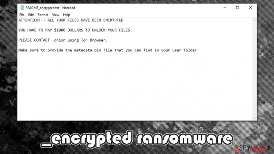 _encrypted ransomware