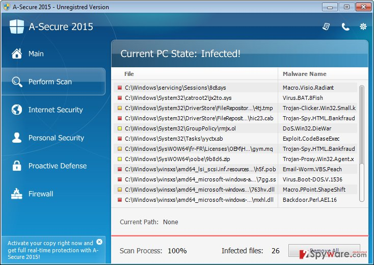 A-Secure 2015 snapshot