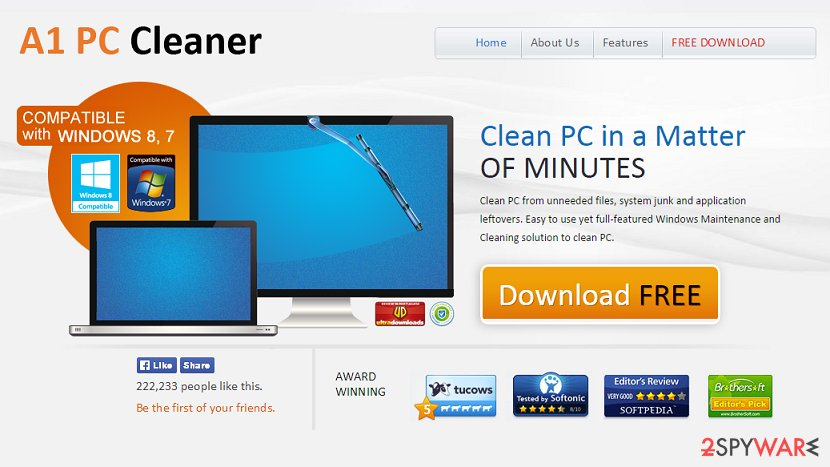 A1PCCleaner virus