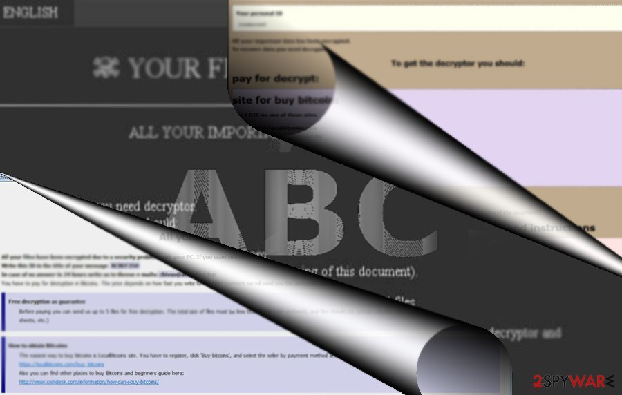 ABC virus screenshot