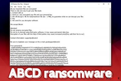 ABCD ransomware
