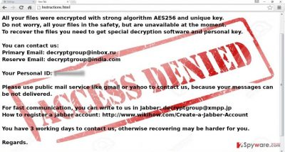 The image of .Access_denied virus