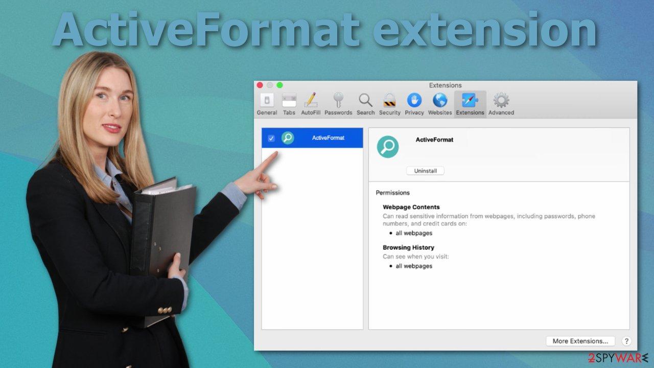 ActiveFormat extension
