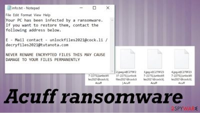 Acuff ransomware