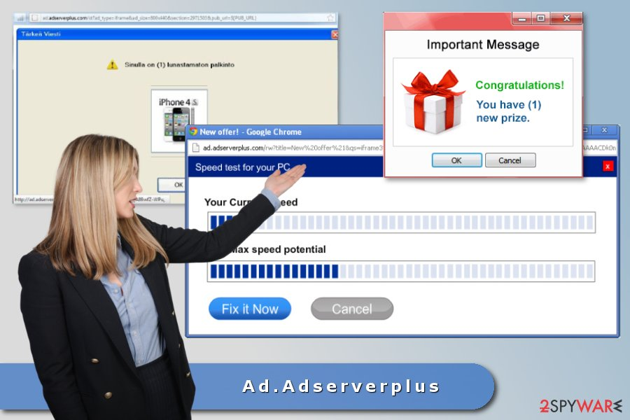 The picture of Ad.Adserverplus adware