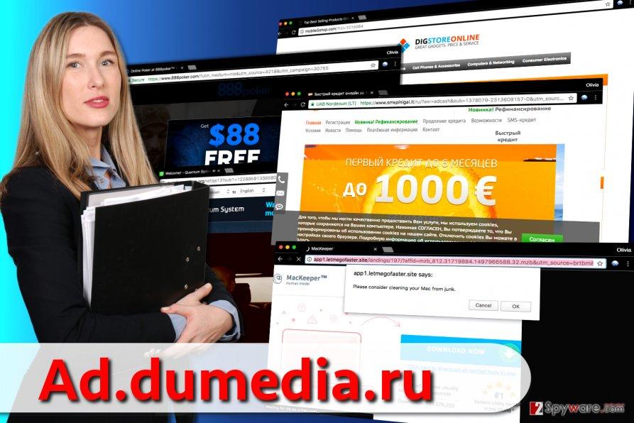 Ad.dumedia.ru ads